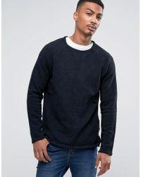 Bellfield - Long Line Chanille Sweater - Lyst
