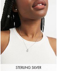Ted Baker Hadeya - Coffret cadeau avec collier à cœur en cristal et boucles d'oreilles - é - Métallisé