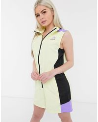The North Face Extreme - Playsuit - Geel