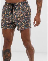 Pull&Bear - Swim Shorts With Khaki - Lyst