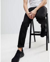 Wesc Eddy Slim Fit Jeans In Black