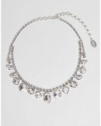 Krystal London - Swarovski Crystal Multi Gem Drop Necklace - Lyst