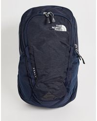 The North Face Vault Light Backpack In Urban Navy - White