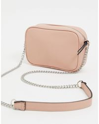 Stradivarius Handbag With Zipper Detail - Pink