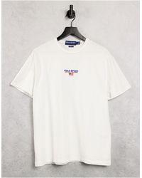 Polo Ralph Lauren Sport Capsule - T-shirt Met Logo - Wit