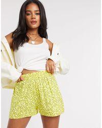 PrettyLittleThing Shorts - Yellow