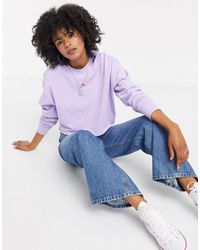 TOPSHOP Chilli Pepper Sweatshirt - Purple