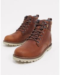 TOMS Ashland 8-eye Hiker Boots - Brown