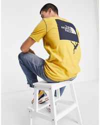 The North Face - Dome Climb Back Print T-shirt - Lyst