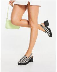 ASOS Shae Chunky Slingback Loafers - Multicolour
