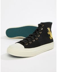 PS by Paul Smith - Kirk Dino Hi-top Trainers - Lyst
