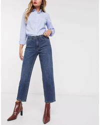 Ichi Kick Flare Jeans - Blue