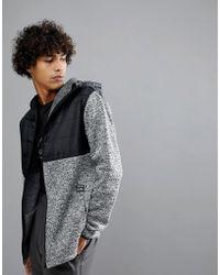 Billabong - Transition Fleece Jacket In Grey - Lyst