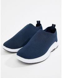 Loyalty & Faith Polo Sock Sneaker - Blue