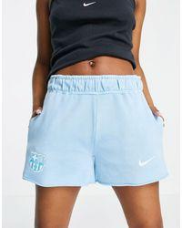 Nike Football Barcelona Fc Shorts - Blue