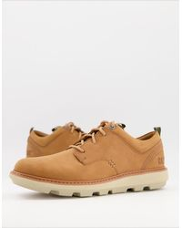 Caterpillar Cat Brusk Lace Up Low Top Shoes - Brown