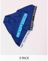 BOSS by Hugo Boss Набор Из 3 Трусов Bodywear-темно-синий