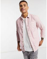 River Island Рубашка С Длинными Рукавами -розовый