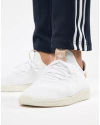 separation shoes 988f0 6ac8f adidas Originals - Zapatillas de deporte blancas Pharrell Williams Tennis HU  CQ2169 de - Lyst