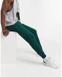 Tommy Hilfiger Зеленые Джоггеры С Манжетами И Логотипом -зеленый Цвет