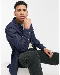 Levi's Джинсовая Темно-выбеленная Рубашка Навыпуск В Рабочем Стиле Jackson Worker-голубой - Синий