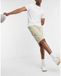 Kickers Drill Shorts Cargo Shorts - Natural