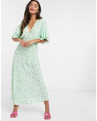Ghost Tessie Dress - Green