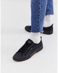 Nicce London Affleck - Sneakers nere con suola a cassetta - Nero