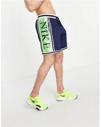 Nike Basketball Dna Logo Shorts - Blue