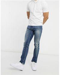 Tommy Hilfiger – Scanton – Schmale Jeans - Blau