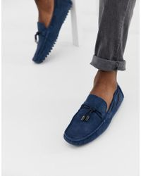 Versace Jeans Couture Mocasines azules