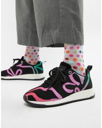 PS by Paul Smith - Ps By Paul Smith Fly Knit Rainbow Trainer - Lyst
