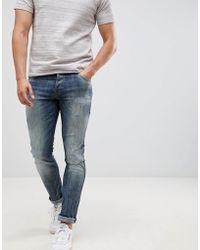 Jack & Jones - Jack And Jones Slim Fit Jeans - Lyst
