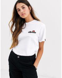 Ellesse - T-shirt à logo brodé sur la poitrine - Lyst