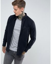 Lee Jeans - Button Down Denim Shirt Black - Lyst