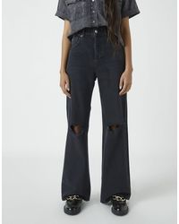 Pull&Bear 90's Wide Leg Jeans - Multicolor