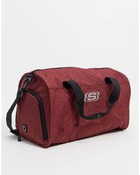 Skechers – Mittelgroße Reisetasche - Rot