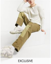 Reclaimed (vintage) Inspired - Pantaloni comodi stile casual - Multicolore