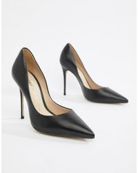 Bronx - Leather Pointed Heeled Shoes - Lyst