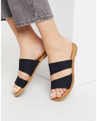Call It Spring Brosna Flat Sandals - Black