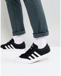 6abd59963 adidas Originals - Adidas Skateboarding Matchcourt Trainers In Black F37383  - Lyst