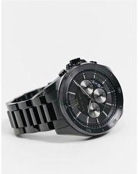 Michael Kors Мужские Часы С Черным Ремешком Brecken Mk8858-черный Цвет