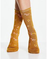 SELECTED Коричневые Носки Femme-коричневый Цвет