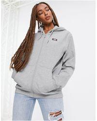 Dickies Oakport Full Zip Hoodie - Grey
