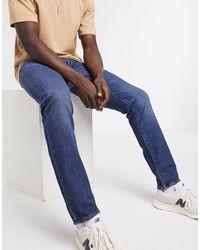 Levi's 511 - Slim-fit Jeans Met Mid Wash - Blauw