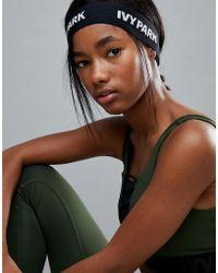 Ivy Park - Logo Elastic Headband - Lyst