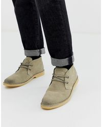Superdry Rallie Leather Desert Boots - Multicolor