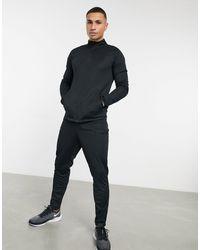 Nike Football Черный Спортивный Костюм Academy 21-черный Цвет