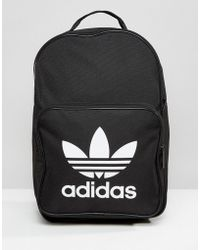 190139e2630b Lyst - adidas Originals Pink Geometric Rolltop Backpack in Natural
