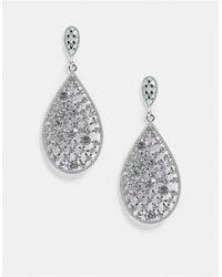 ALDO Patanga Statement Teardrop Earrings - Metallic